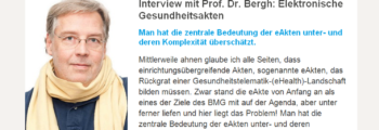 TK spezial Baden-Württemberg: Interview mit Prof. Dr. Bergh