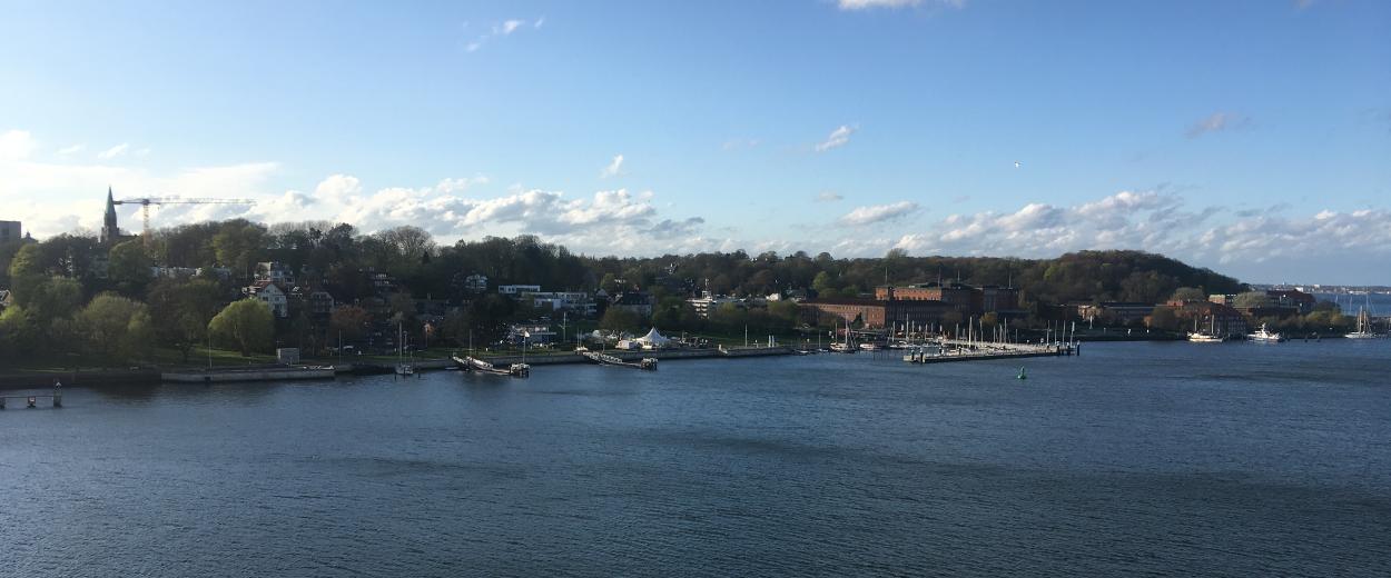 Kieler Förder mit Blick auf Segelhafen
